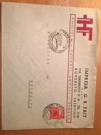 BUSTA POSTALE PUBBLICITARIA-ROVERETO-IMPRESA G.B.FAIT-EDILIZIA-6-12-1940 - 6. 1946-.. Repubblica