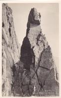 Postcard Climbing The Needle Great Gable Plain Back C 1947 ? Lake District My Ref  B11812 - Climbing