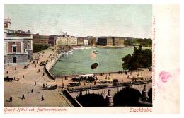 3514  Stockholm Grand Hotel Och Nationalmuseum - Hotels & Restaurants