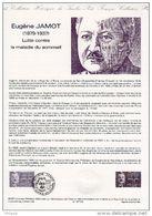 """Document Philatélique Officiel De 1987 N° 06-87 """"  PERSONNAGE CELEBRE 1987 : JAMOT """" N° YT 2455. Parfait état ! DPO - Documents De La Poste"""