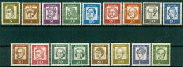 BRD 1961  / MiNr.   347 – 362 Y      ** / MNH  (q99) - [7] West-Duitsland