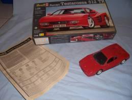 Maquette  Ferrari En Lots De 8 - Cars