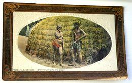 Semi-nude Couple, Semi-nue, 1911. Belle Carte. - Afrique Du Sud, Est, Ouest