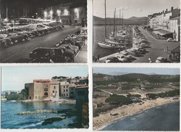 4 Cartes Postales De SAINT TROPEZ  83 - Saint-Tropez