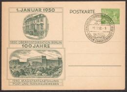 BER P 11 U 1950 10pf Cloisters, Kleist Park W/special Cancel - [5] Berlin