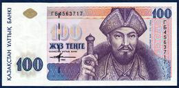 KAZAKHSTAN KAZACHSTAN KASACHSTAN 100 TENGE P-13b 1993 ISSUED 2001 UNC - Kazakhstan