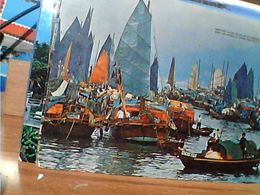 HONG KONG  FLOATING PEOPLE  CASTLE  PEAK  V1977  GN21032 - Cina (Hong Kong)