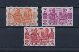 Nouvelles Hébrides New Hebrides - Les Indigènes N° 152/154 Neufs Sans Charnières ** MNH - Leyenda Francesa