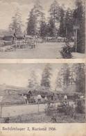 AK Sachsenlager 2 - Kurland - 1916  (32789) - Ostpreussen