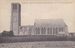 Damme, Eglise Notre Dame Côté Méridional; O.L.V Kerk (pk42411) - Damme