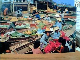 THAILAND TMARKET FLOATING  BARCHE  VB1986  GN21039 - Tailandia
