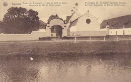 Damme,  Pachthoeve St Christoffel, Tegenover De Brug Der Vaart (pk42418) - Damme
