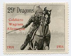 CINDERELLA : FRANCE - DELANDRE - 29e DRAGONS 1914-1916 - Cinderellas