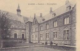 Damme,  Gasthuis, Binnenplaats (pk42419) - Damme