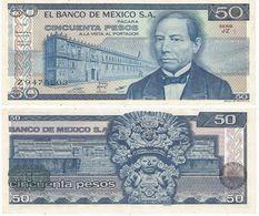 México 50 Pesos 1981 Pick 73 Serie JZ Ref 1426 - México
