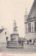 Damme, Monument Jacques De Coster Van Maerlant (pk42424) - Damme