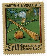 CINDERELLA : GERMANY - HARTWIG & VOGEL A.G. - TELL CACAO UND CHOCOLADE - Cinderellas