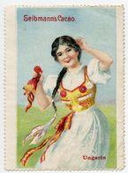 CINDERELLA : GERMANY - SELBMANN'S CACAO - UNGARIN - Cinderellas