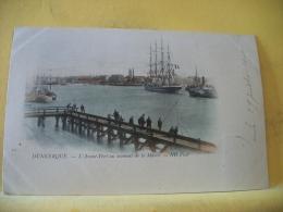 B16 6673 CPA 1900 -59 DUNKERQUE L'AVANT PORT AU MOMENT DE LA MAREE -EDIT. ND30 - 4 MATS(+DE 20000 CARTES MOINS 1 EURO) - Dunkerque