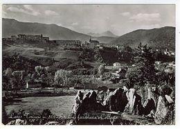 TORINO LANZO TORINESE STAZIONE FERROVIARIA E COLLEGIO 1955 Fg Vg - Otras Ciudades