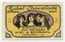 CINDERELLA : GERMANY - KIEL & SCHMAHL - JUBEL-CHOCOLADE, HERFORD - Cinderellas