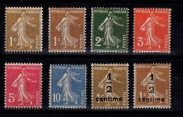 Serie YV 277A à 279B N** Semeuses - 1906-38 Semeuse Camée