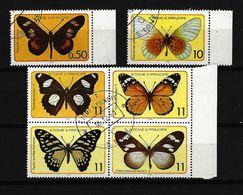 SAO TOMÉ Und PRINCIPE Mi-Nr. 561 - 566 Schmetterlinge Gestempelt (1) - Papillons