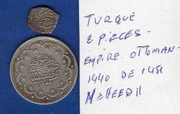 Turquie  2  Pieces  Arg - Turquia