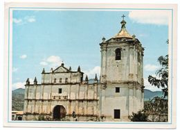 NICARAGUA - IGLESIA DE TOTOGALPA, MADRIZ / THEMATIC STAMP-FIREFIGHTERS - Nicaragua