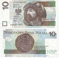 Polonia 10 Zlotich 1994 Pcik 173.a Ref 1429 - Poland