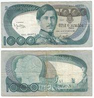 Portugal 1.000 Escudos 26-10-1982, Firma 11 Pick 175.e.2 Ref 2082-2 - Portogallo
