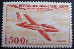 Lot FD/491 - 1954 - POSTE AERIENNE - MAGISTER - N°32 - NEUF* - Cote : 110,00 € - Airmail