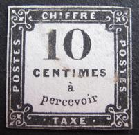 Lot FD/506 - 1859 - TIMBRE TAXE - N°1 - CàD - Cote : 350,00 € - Postage Due