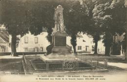 21 SAINT SEINE L'ABBAYE / Place Des Maronniers  Et Monument Aux Morts/ - France