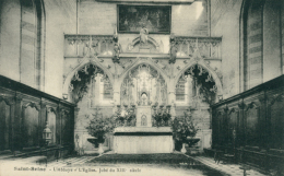 21 SAINT SEINE L'ABBAYE / Abbaye - L'Eglise - Jubé Du XIIIème / - France