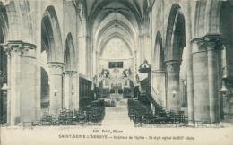 21 SAINT SEINE L'ABBAYE / Intérieur De L'Eglise / - France