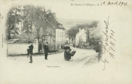 21 SAINT SEINE L'ABBAYE / Rue Carnot / - France