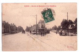 0358 - Dijon - Route De Beaune Et De Chenove - édit. J.B. - Dijon