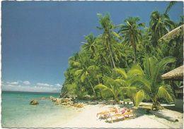 V1548 Philippines - Laguna Beach Resort - Puerto Galeria - Mindoro - Red Machine Timbre / Viaggiata 1960 - Filippine