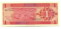 1970 Netherlands Antilles UNC 1 Gulden Banknote - East Carribeans