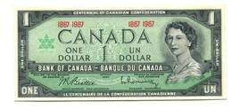 1967 Canada Centennial No SN UNC $1 Banknote - Canada