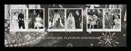 Great Britain 2017 Mih. 4134/39 (Bl.111) Royal Wedding. Platinum Anniversary MNH ** - Ungebraucht