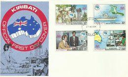 Kiribati 1984 Ausipex 84 FDC - Kiribati (1979-...)