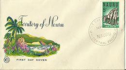 Nauru 1965 ANZAC,Wesley FDC - Nauru