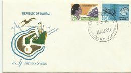 Nauru 1968 Independence FDC - Nauru