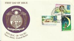 Nauru 1973 Co-Operative Society FDC - Nauru