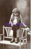 85998 REAL PHOTO COSTUMES CARNIVAL DESGUISE GYPSY POSTAL POSTCARD - Unclassified
