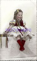 86026 REAL PHOTO COSTUMES CARNIVAL DESGUISE GYPSY NO POSTAL TYPE POSTCARD - Unclassified