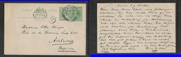 S.Africa, Transvaal EVIIR 1/2d Post Card + 1/2d Adhesive PRETORIA FE 14 10 > Belgium   ANVERS ARRIVEE  5 MARS 10 - South Africa (...-1961)