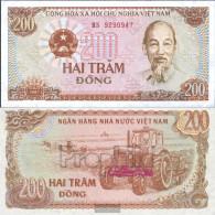 Vietnam Pick-number: 100c Uncirculated 1987 200 Dong - Vietnam